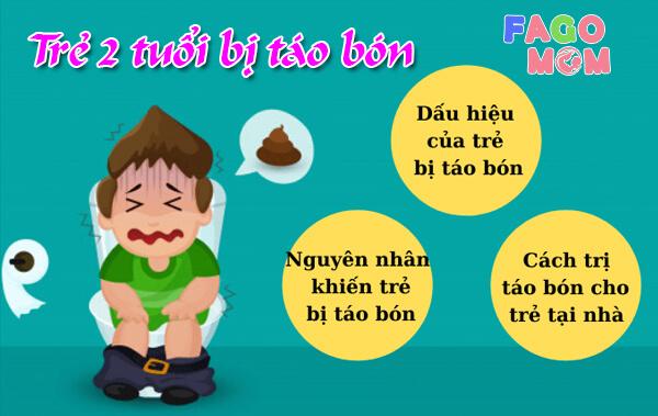 [Trẻ 2 tuổi bị táo bón] - Nguyên nhân và cách điều trị