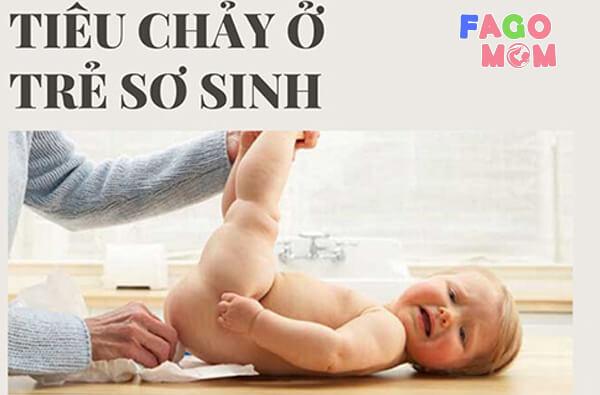 [Trẻ sơ sinh bị tiêu chảy] Nguyên nhân và 6+ cách điều trị