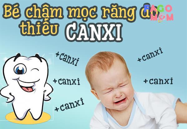 [Lời khuyên] Có nên bổ sung canxi cho trẻ chậm mọc răng