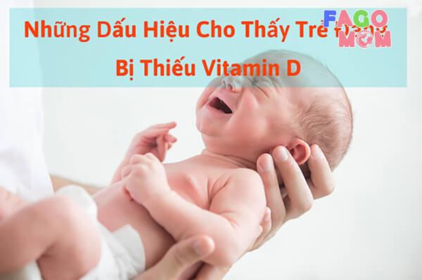 [Trẻ thiếu Vitamin D] Dấu hiệu, nguyên nhân và cách điều trị