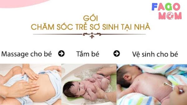 [Giải pháp] Dịch vụ chăm sóc trẻ sơ sinh tại nhà