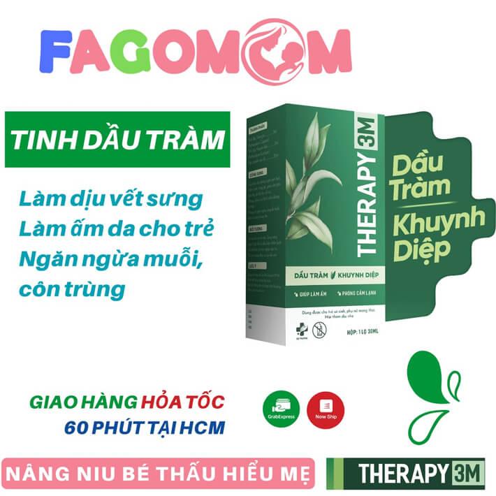 Dầu tràm khuynh diệp Therapy 3M - 30ml