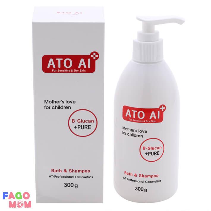 Sữa tắm và gội toàn thân thảo dược ATO AI 300g
