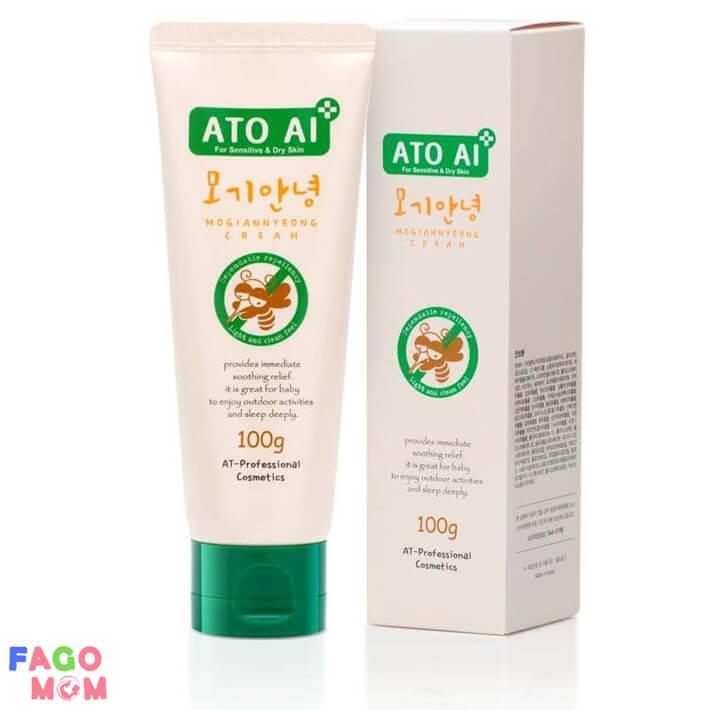 Kem chống muỗi cho bé ATO AI 100g chiết xuất thiên nhiên