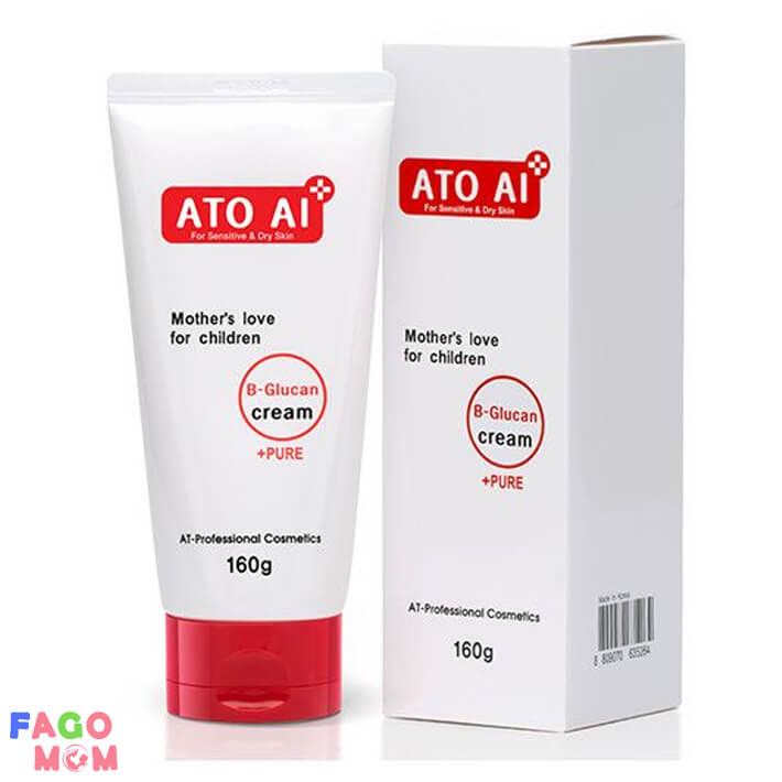 Kem dưỡng da dành cho bé ATO AI 160g chiết xuất từ thiên nhiên