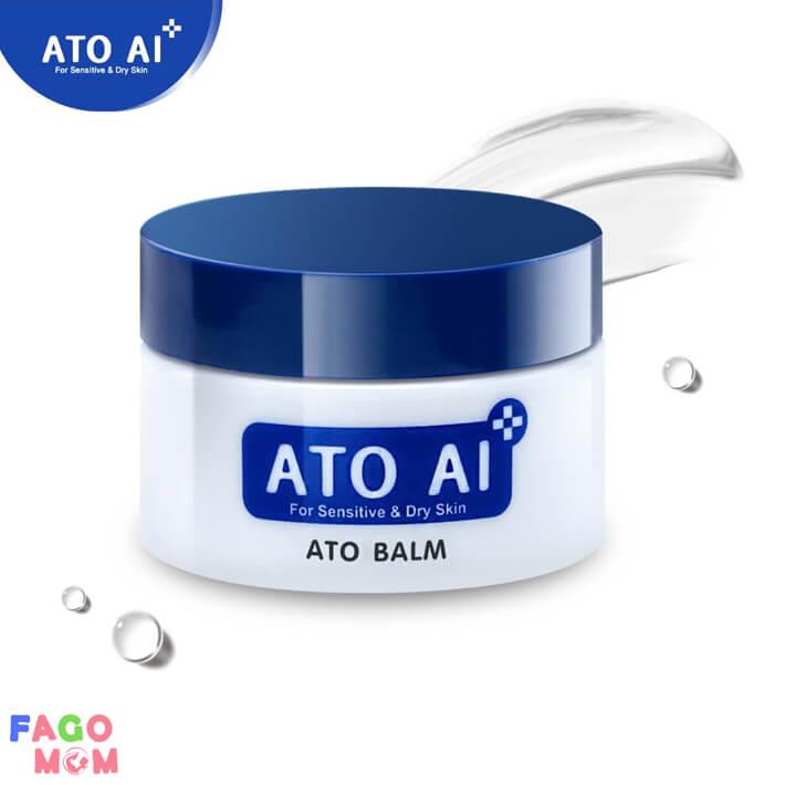 Sáp dưỡng da ngăn ngừa chàm da ATO AI balm 29g an toàn và lành tính