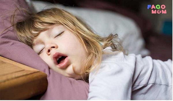 [Trẻ ngủ ngáy] Nguyên nhân và cách điều trị